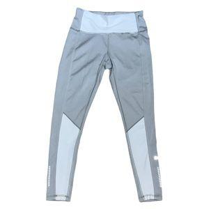 Puma Silver & White Evostripe Leggings Size XS